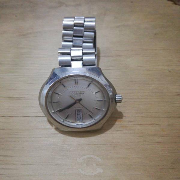 Reloj antiguo automatico citizen leopard fechador
