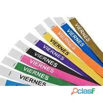 Pulseras con su logotipo impreso en monterrey