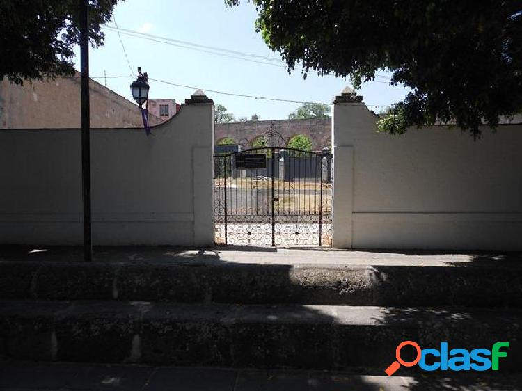 Terreno comercial en renta en centro histórico, morelia, michoacán