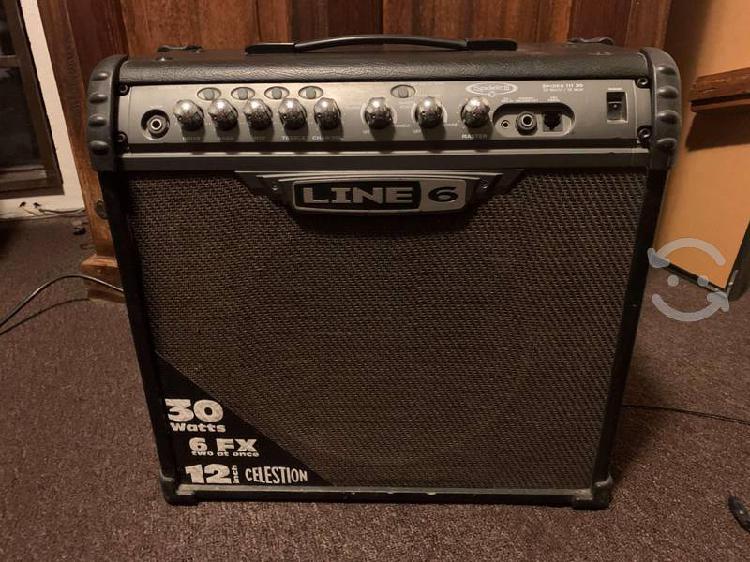 Amplificador para guitarra line 6 modelo spider ii