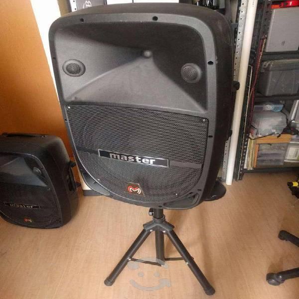 Bafle amplificado master 4.1 pro no recargable