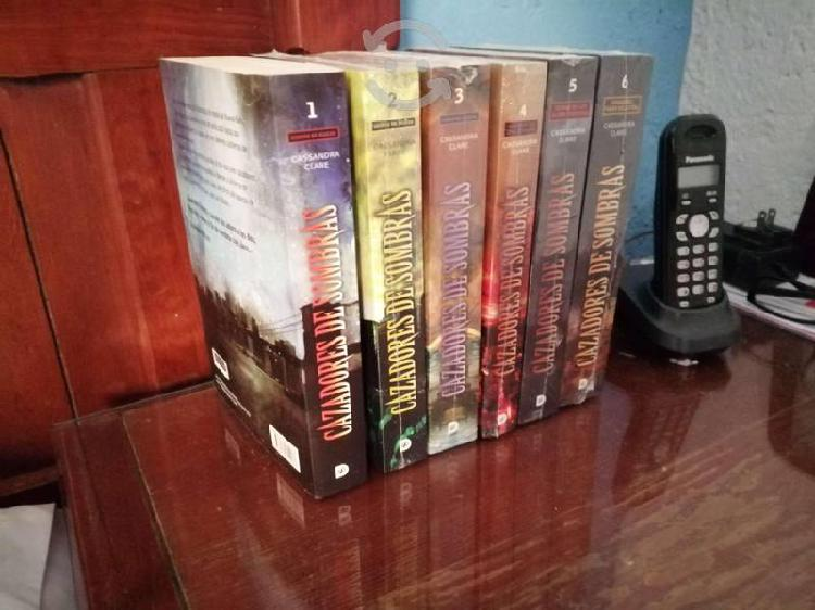 Colección completa de cazadores de sombras