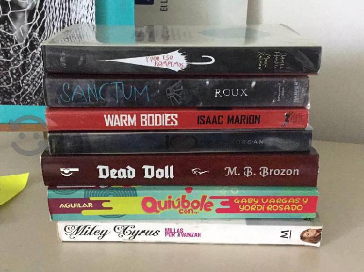 Colección de libros literatura juvenil