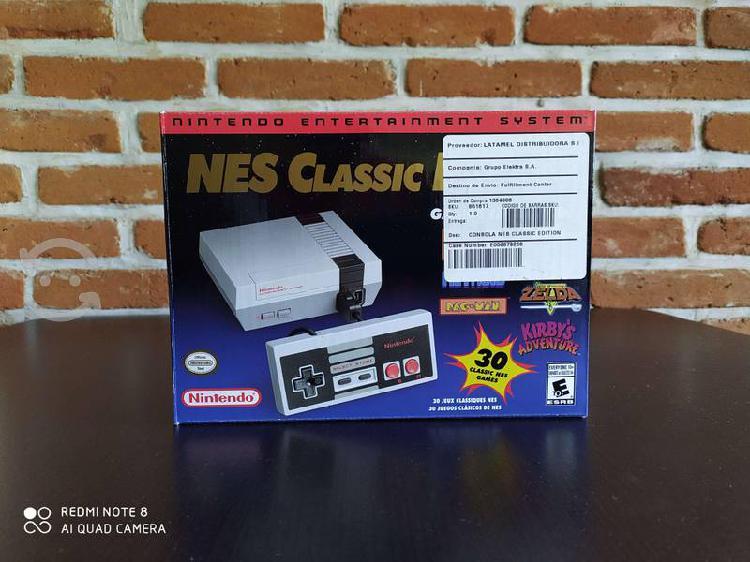 Consola nes classic edition 30 juegos