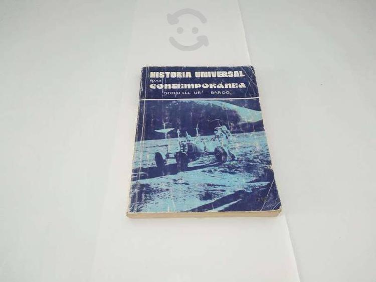 """Historia universal epoca contemporánea """"secco"""""""