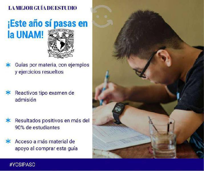 La mejor guía de estudio para licenciatura unam!