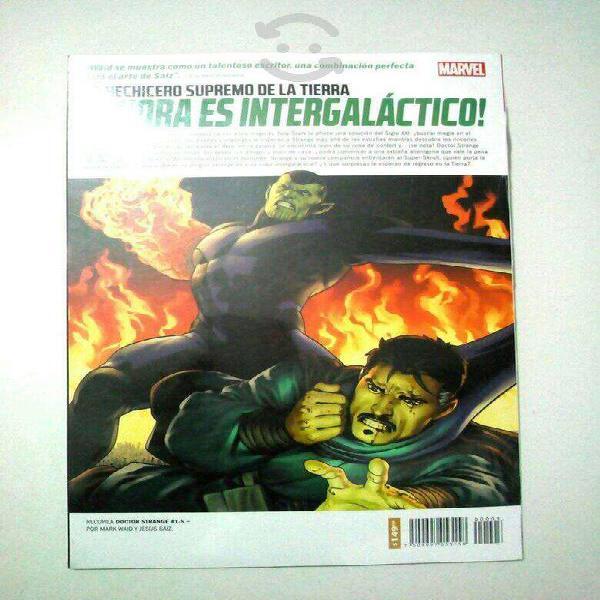 Marvel comics dr. strange a través del universo