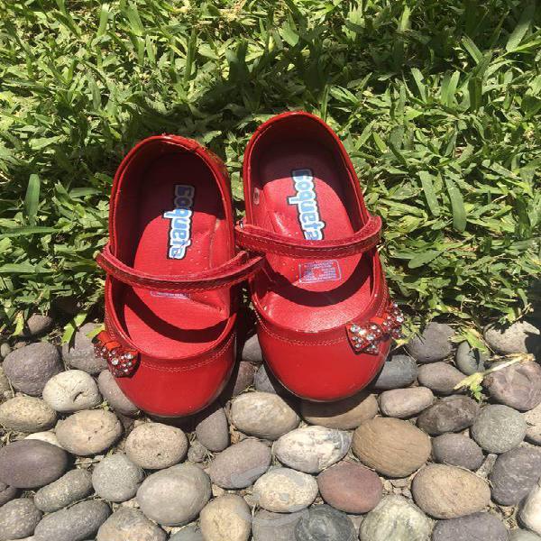 Zapatos coqueta talla 18