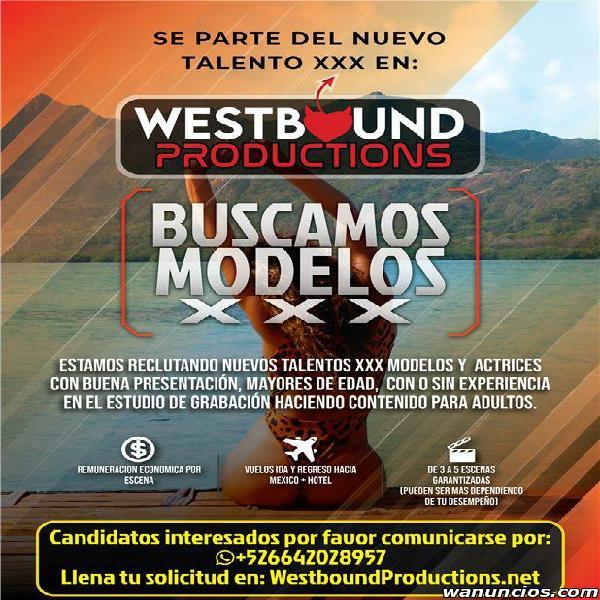 Buscamos modelos XXX (Tijuana)