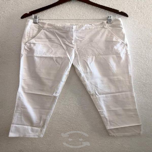 Pantalón formal blanco nyc talla m/2 $150