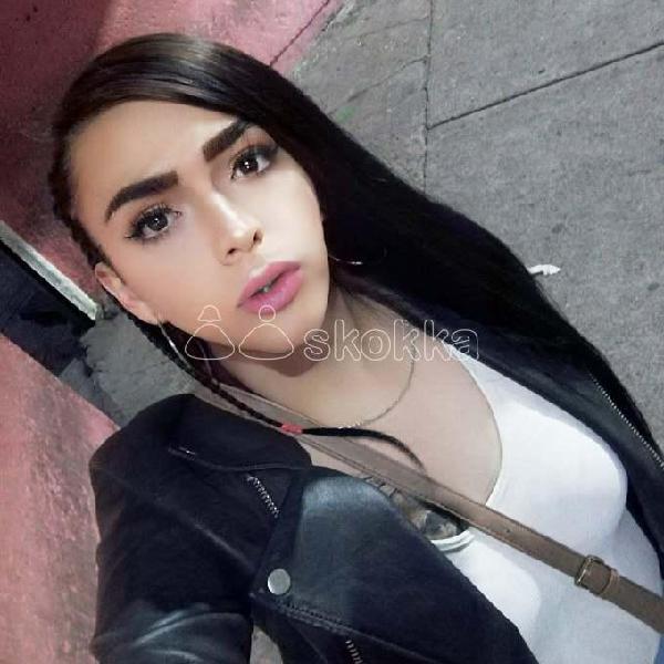 Polett Chica Travesti Muy Femenina 100% Real