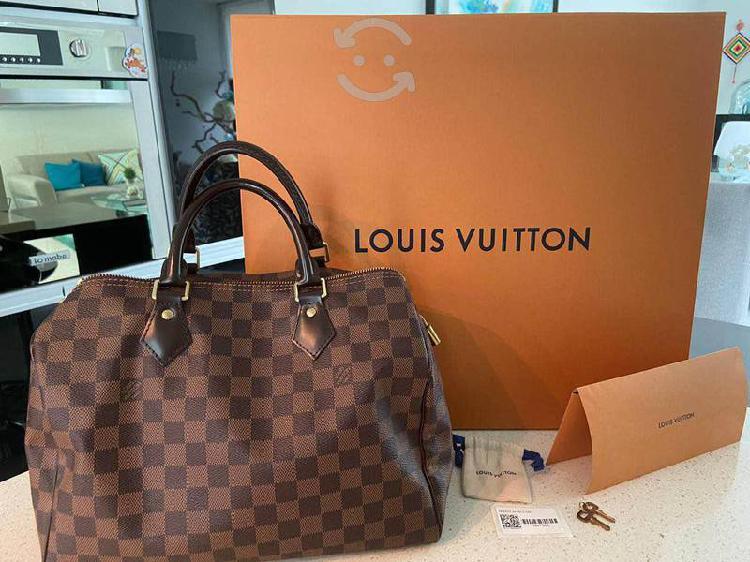 REMATÓ bolsa Speedy Louis Vuitton ORIGINAL