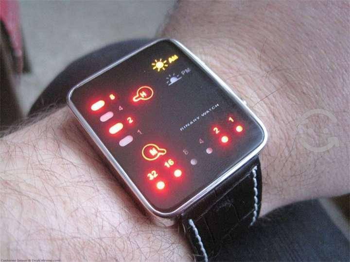 Reloj diseño unico binario nuevos