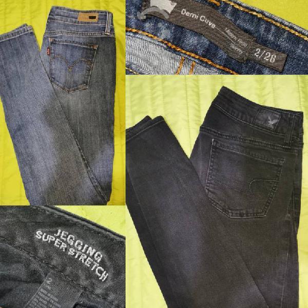 Skinny jeans talla 2