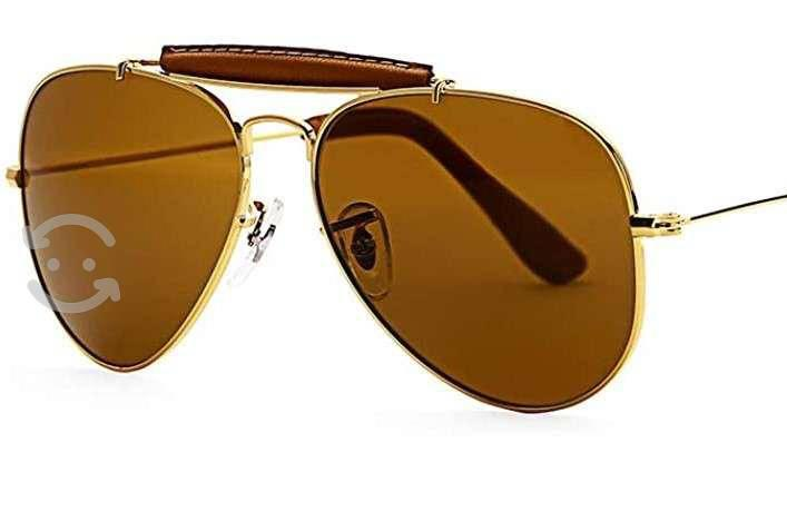 Gafas para sol tipo rayban de cristal 100%