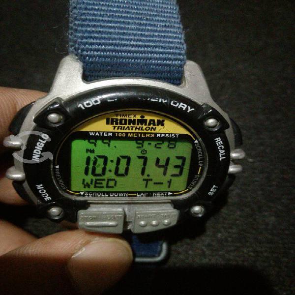 Reloj timex ironman triatlón t66801 100 laps