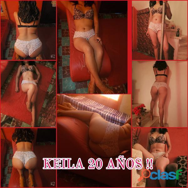 Keila 20 años... Arde de pasión con cada una de sus caricias..