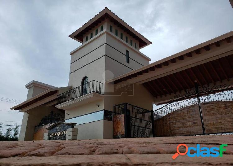 Lotes residenciales en venta de 250 m2 en gran quinta luxury residencial, metepec