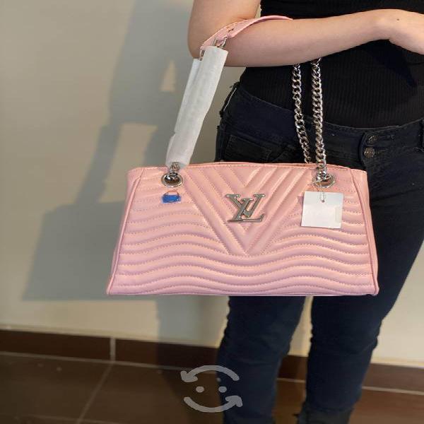 Bolsa louis vuitton rosa