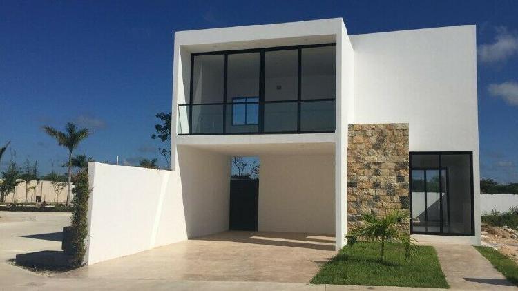 Casa en venta al norte de mérida -albarella