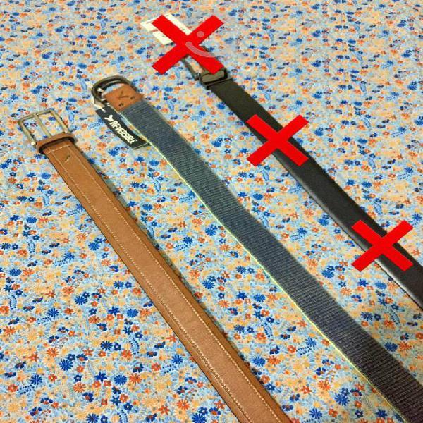 Cinturones de caballero