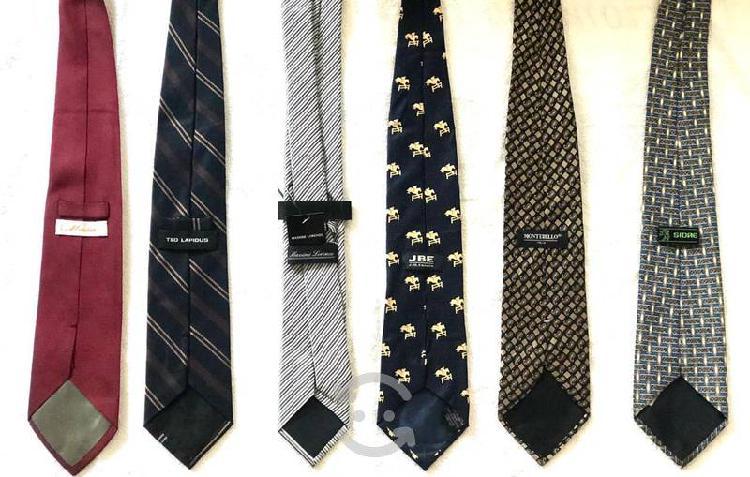 Corbatas para caballero diversas marcas y estilos