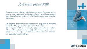 Desarrollo de páginas web estáticas y/o dinámicas