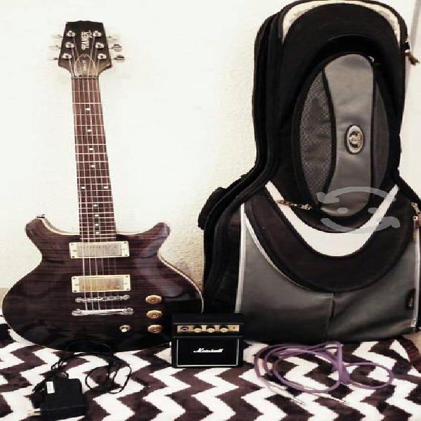 Guitarra electrica (hamer) accesorios incluidos