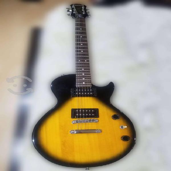 Guitarra epiphone less paul y amplificador peavey