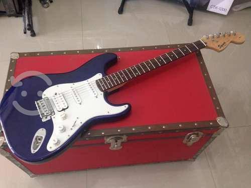 Guitarra fender squier strat azul