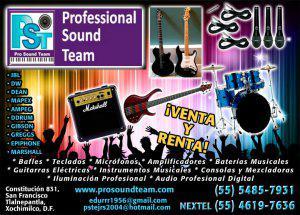 Los mejores instrumentos musicales, venta y renta de equipos