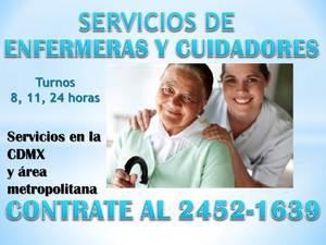 Personal de cuidado y enfermeria en hospitales y a domicilio