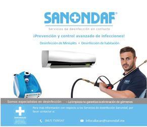 Sanondaf servicio de desinfección de minisplits