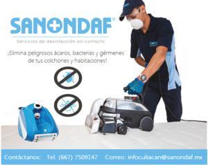 Sanondaf servicio de desinfección de colchones