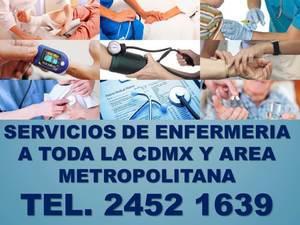 Servicios de enfermeria en la cdmx y en el area