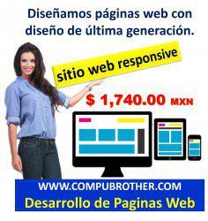 Sube tus productos o servicios a una pagina web en internet