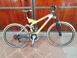 Vendo bicicleta de montaña r26