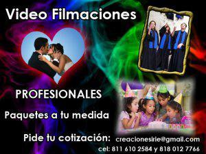 Video filmaciones
