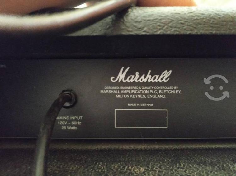 Amplificador para bajo marshall