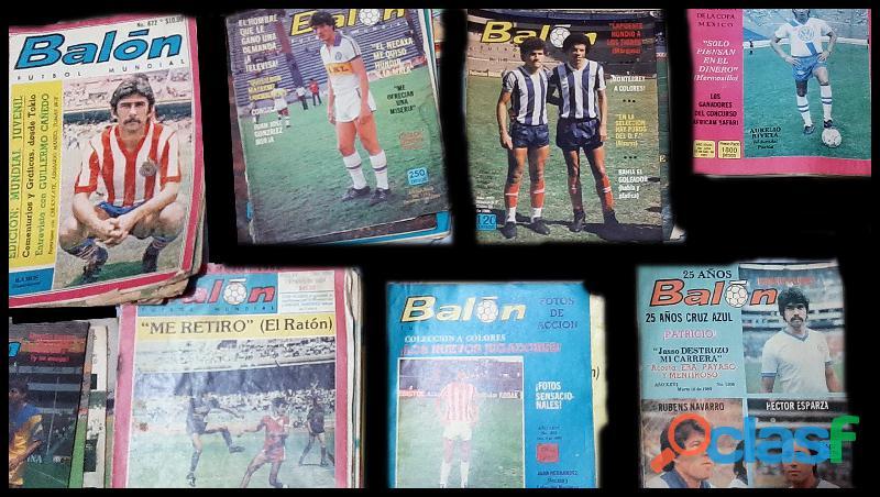 Revistas digitales balon 70's 80's 90's futbol