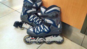 vendo patines en linea marca FILA talla 5