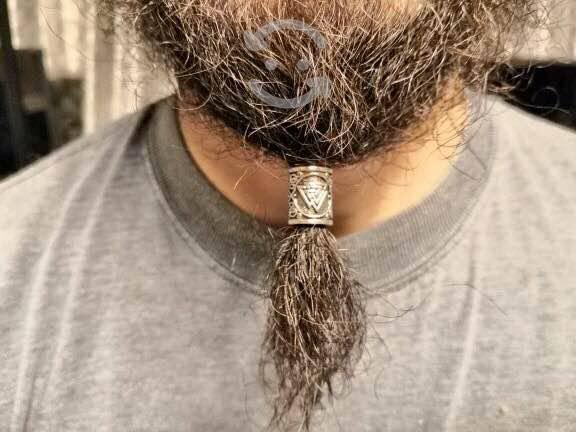5 runas para barba o cabello