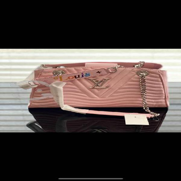 Bolsa louis vuitton wave rosa