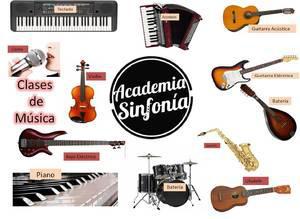Clases de batería, guitarra acústica/eléctrica, bajo