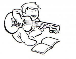 Clases de guitarra eléctrica ó acústica para niños a