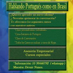 Hablando portugués como en brasil