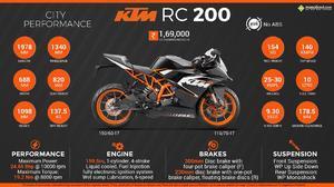 Moto rc 200 marca ktm 2017
