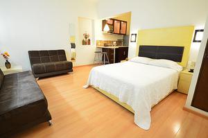 Renta habitacion de lujo en san nicolas con servicio de