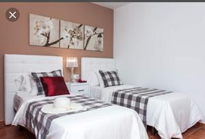 Rento habitacion doble en col espartaco sur