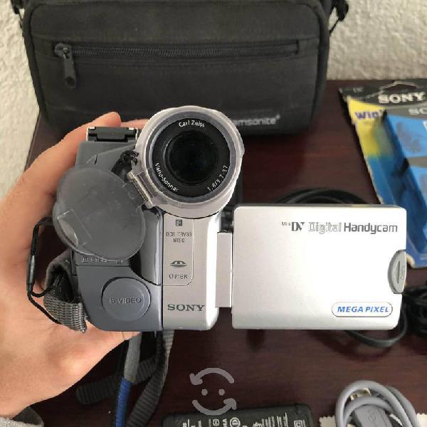 Sony handycam videocámara minidv night visión